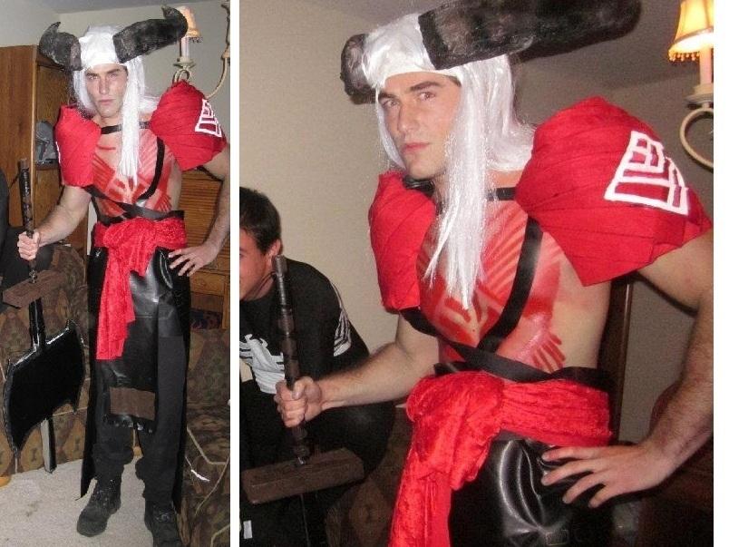 Arishok Costume & Weapon