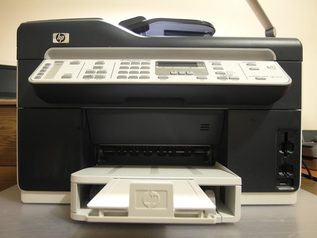 HP Officejet Pro L7580 Teardown