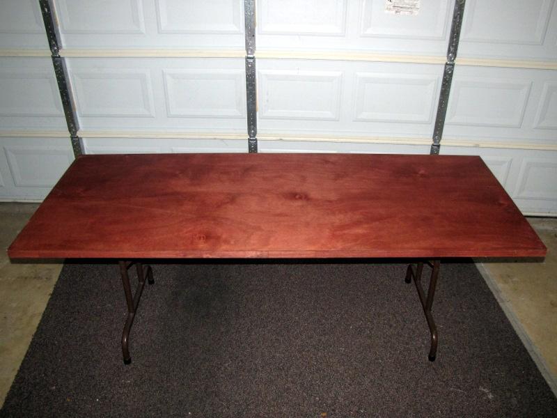 Hollow-Core Door Table