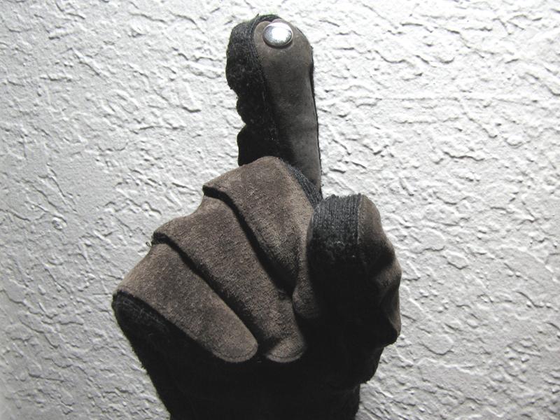 No-Sew Touchscreen Gloves