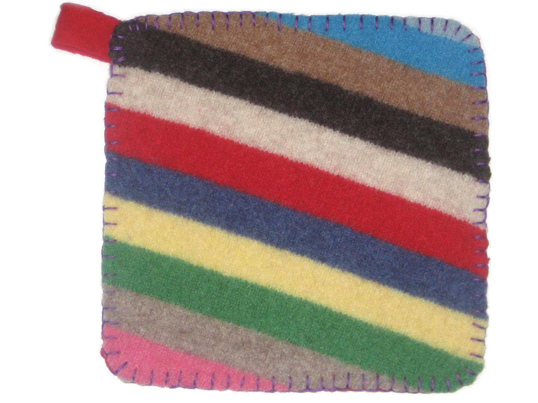 Felted Sweater Potholder