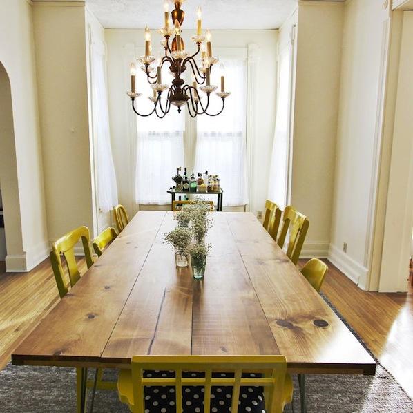 Inspiration: DIY Dining Room Table | Make: