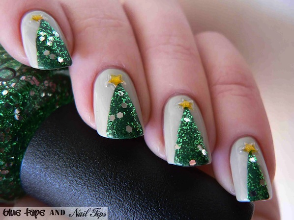 How-To: Christmas Tree Nails