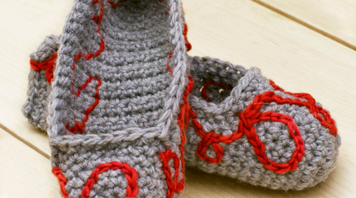 Tutorial: Crocheted Embroidery
