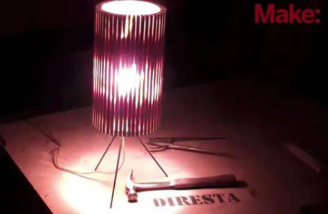 DiResta: Wooden Lamp (Bonus Video)