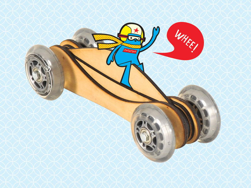 Build a Fast Toy Wood Car