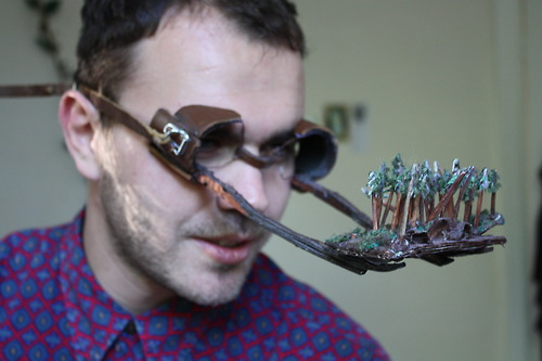 Face-Attachable Forrest View Spectacles
