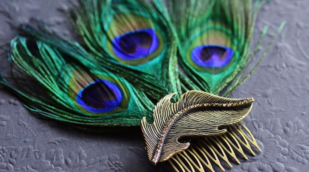 How-To: Peacock Feather Fascinator