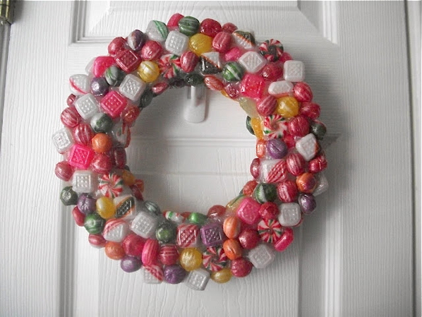 How-To: Faux Resin Candy Wreath