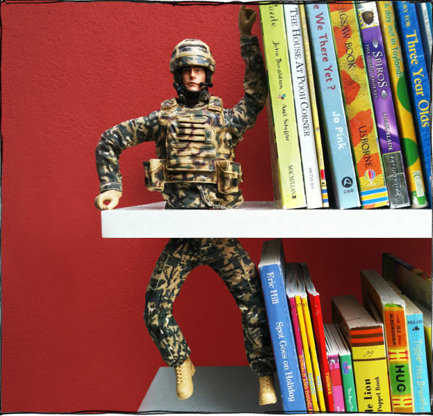 War and Peace Bookend