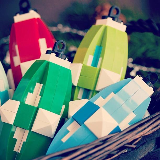 DIY LEGO Ornaments