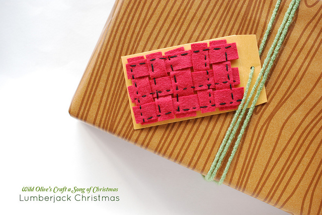 Lumberjack Gift Card Holder