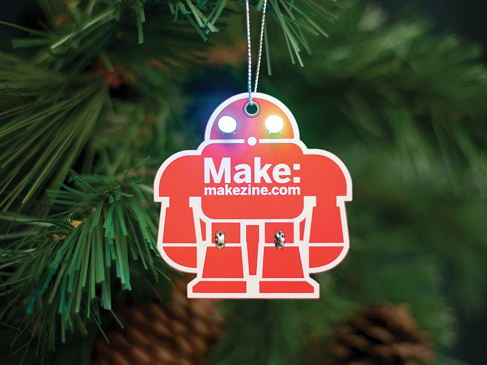 Learn to Solder Ornaments and Gift Wrapping in the Maker Shed