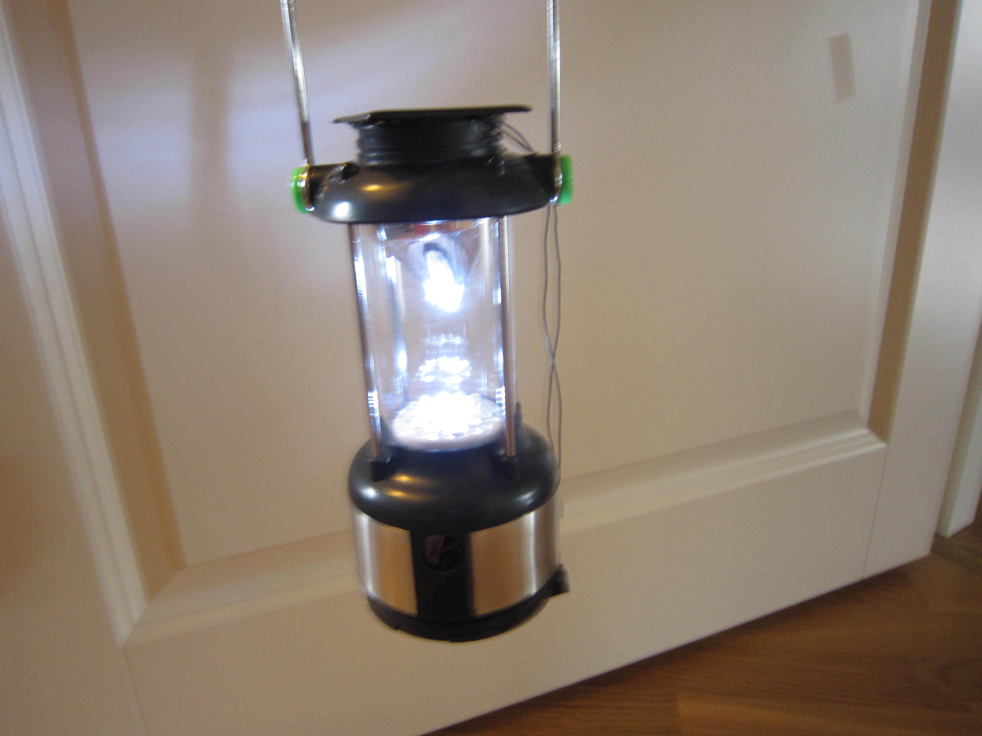 Solar Power Camp Light