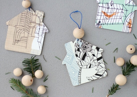 How-To: Home Sweet Home Ornaments