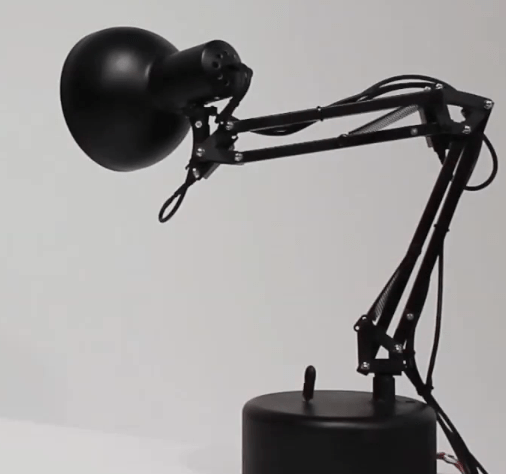 Face-Tracking Lamp