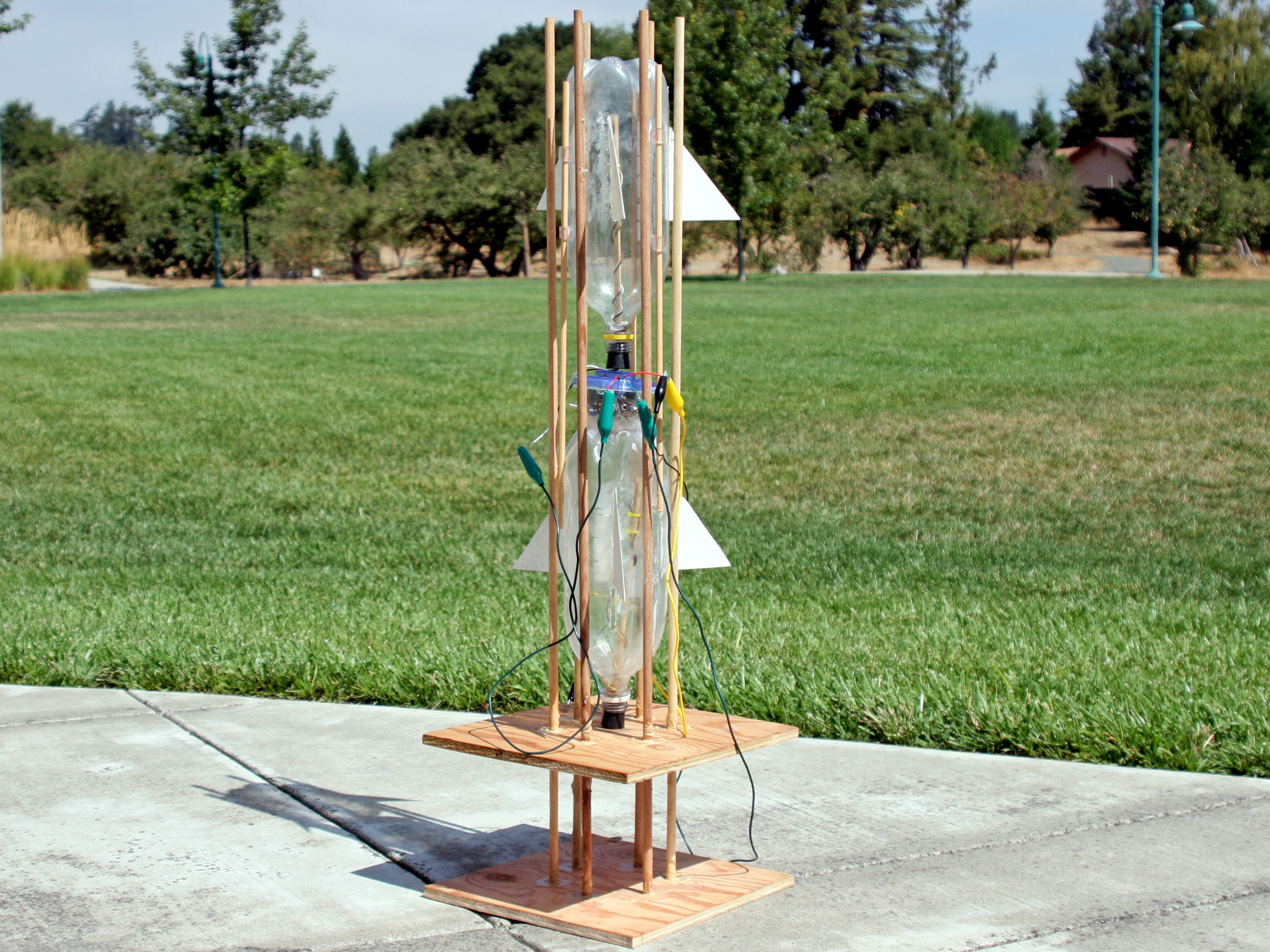 Hydrogen-Oxygen Bottle Rocket