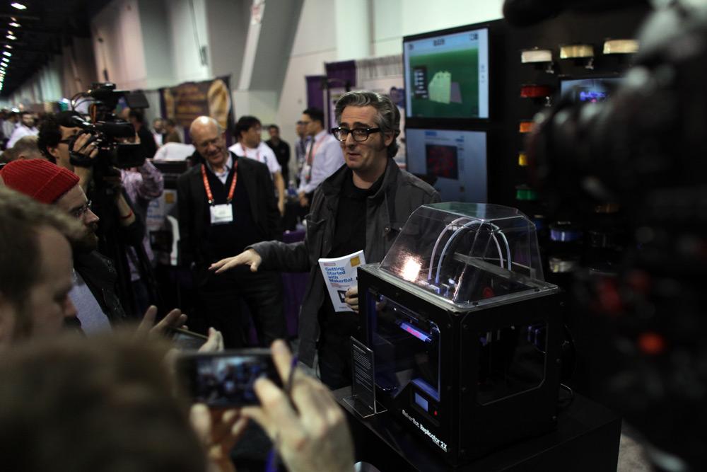 MAKE at CES 2013: MakerBot Unveils Replicator 2X and Parametric Design Tool