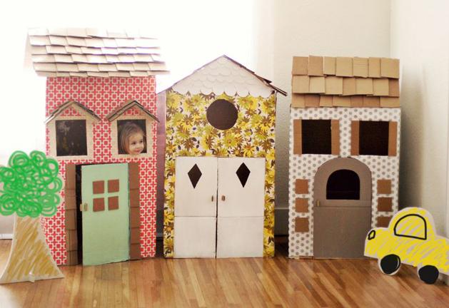 How-To: Cardboard Playhouse