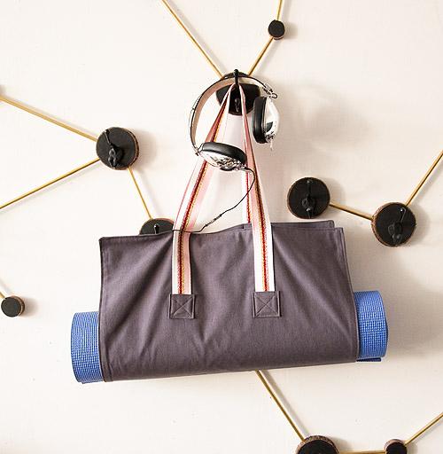 How-To: Simple DIY Yoga Mat Bag