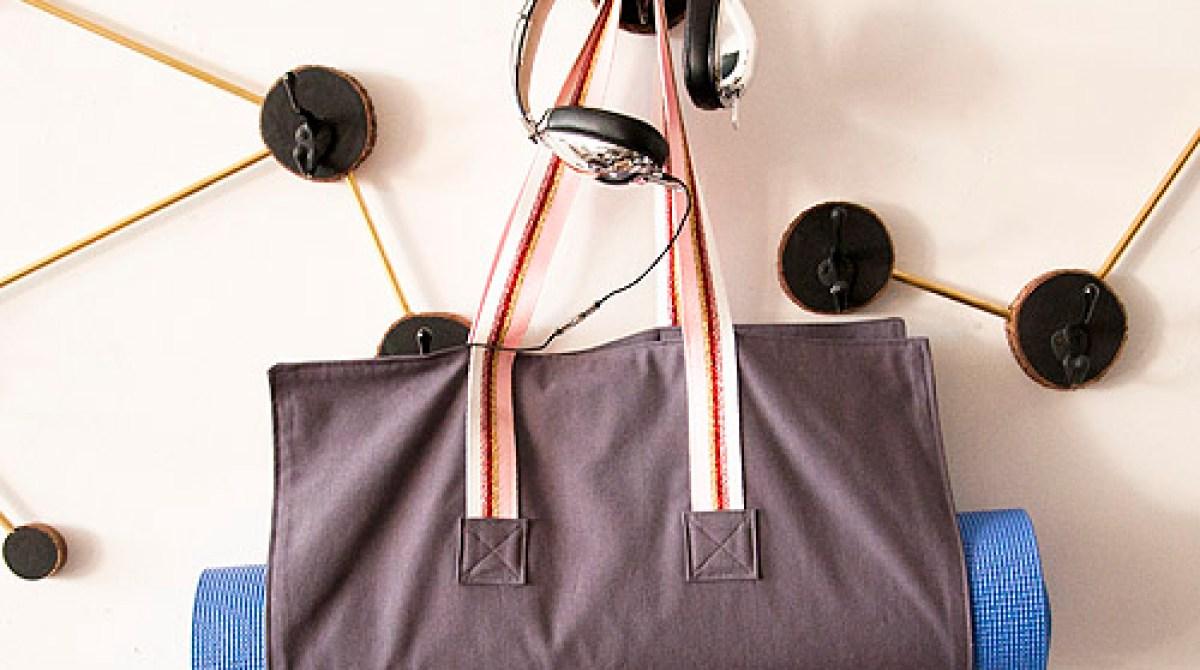 How To Simple Diy Yoga Mat Bag Make