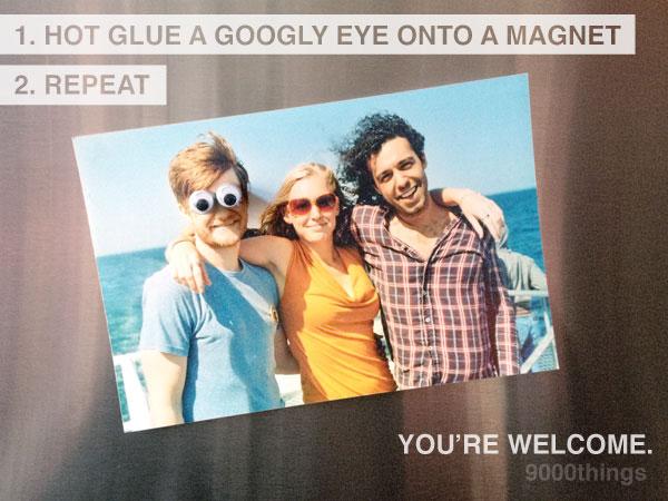 Googly Eye Fridge Magnets