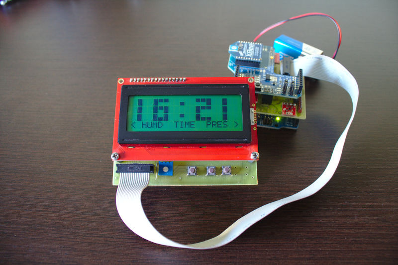 RasPi and Arduino-Controlled Weather Station