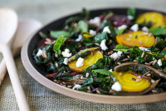 Recipe: Warm Winter Salad