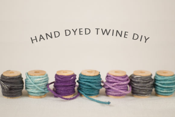 How-To: Hand-Dyed Twine