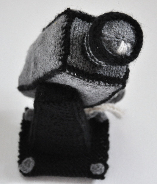 Knitted Security Camera