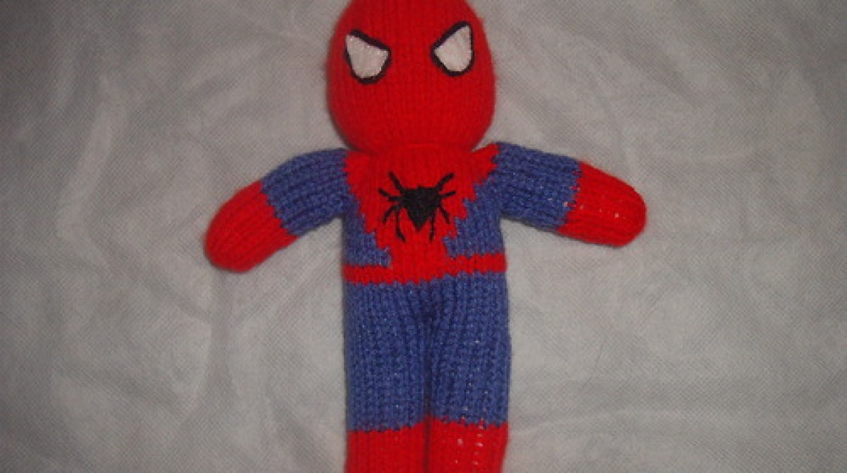 Knitted Spiderman Doll | Make: