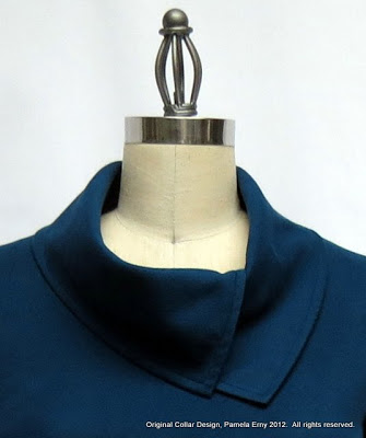 How-To: Sew a Cowl Collar