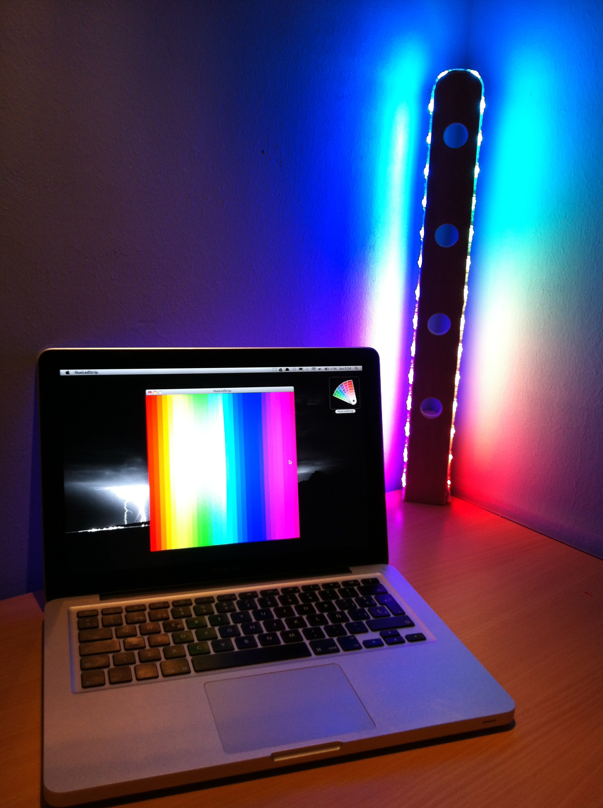 Arduino-Controlled RGB Lamp