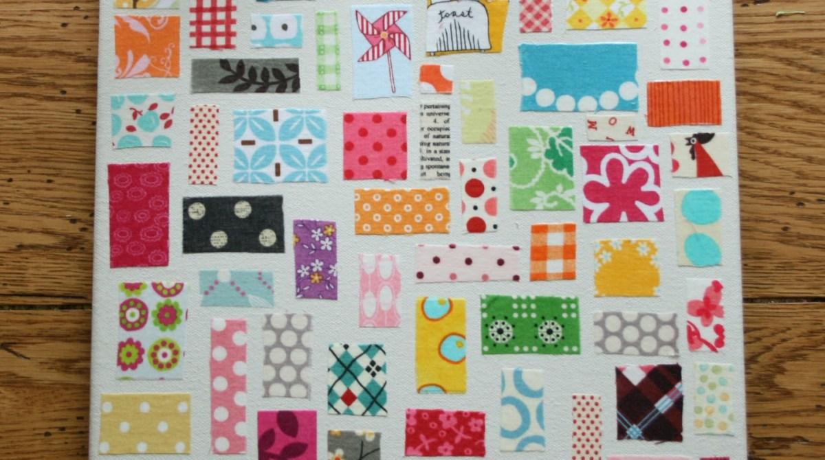 No-Sew Quilt Wall Art