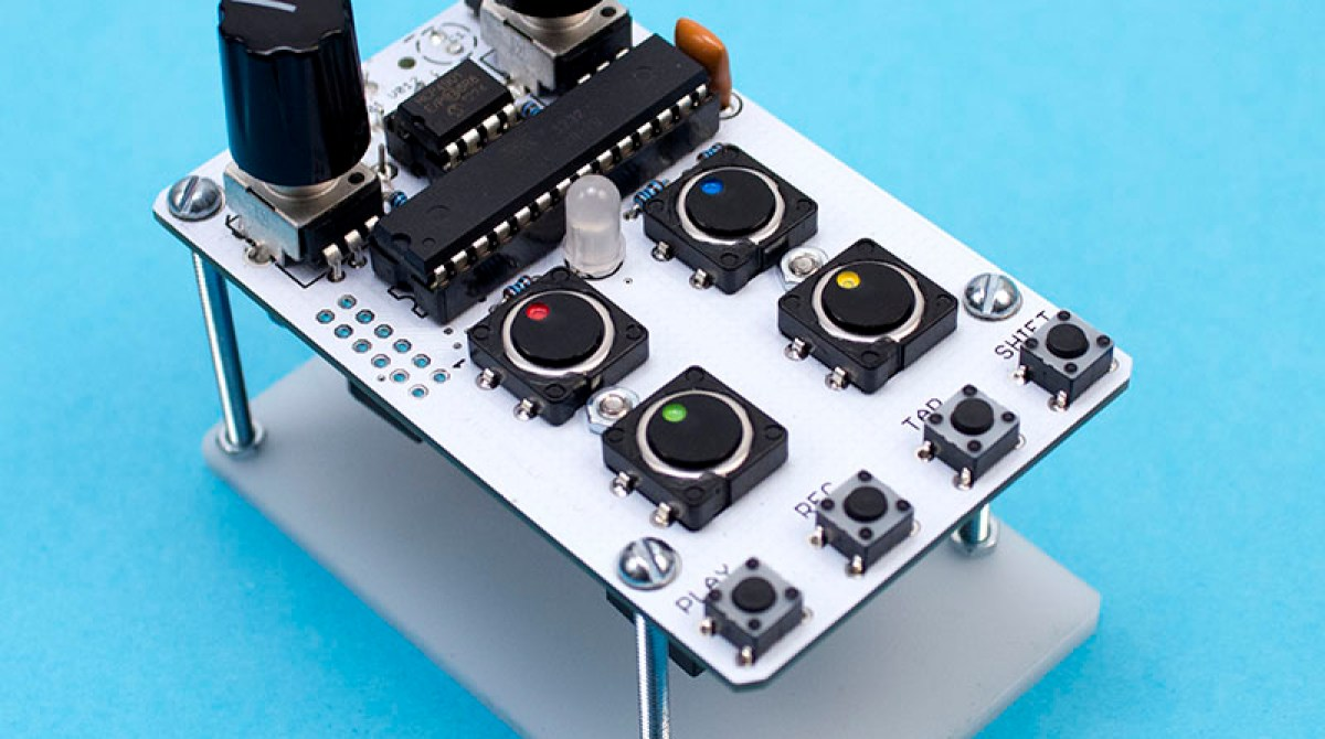 Arduino Based Drum Machine Make How To Circuitbend A Cheap Voice Recorder Article Featured Image