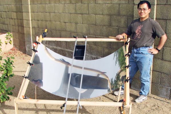The Solar Catenary Reflector
