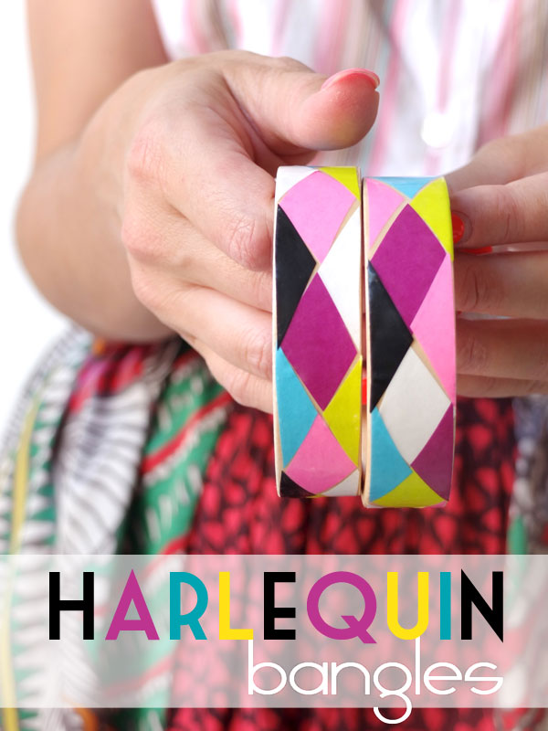 How-To: Harlequin Bangles