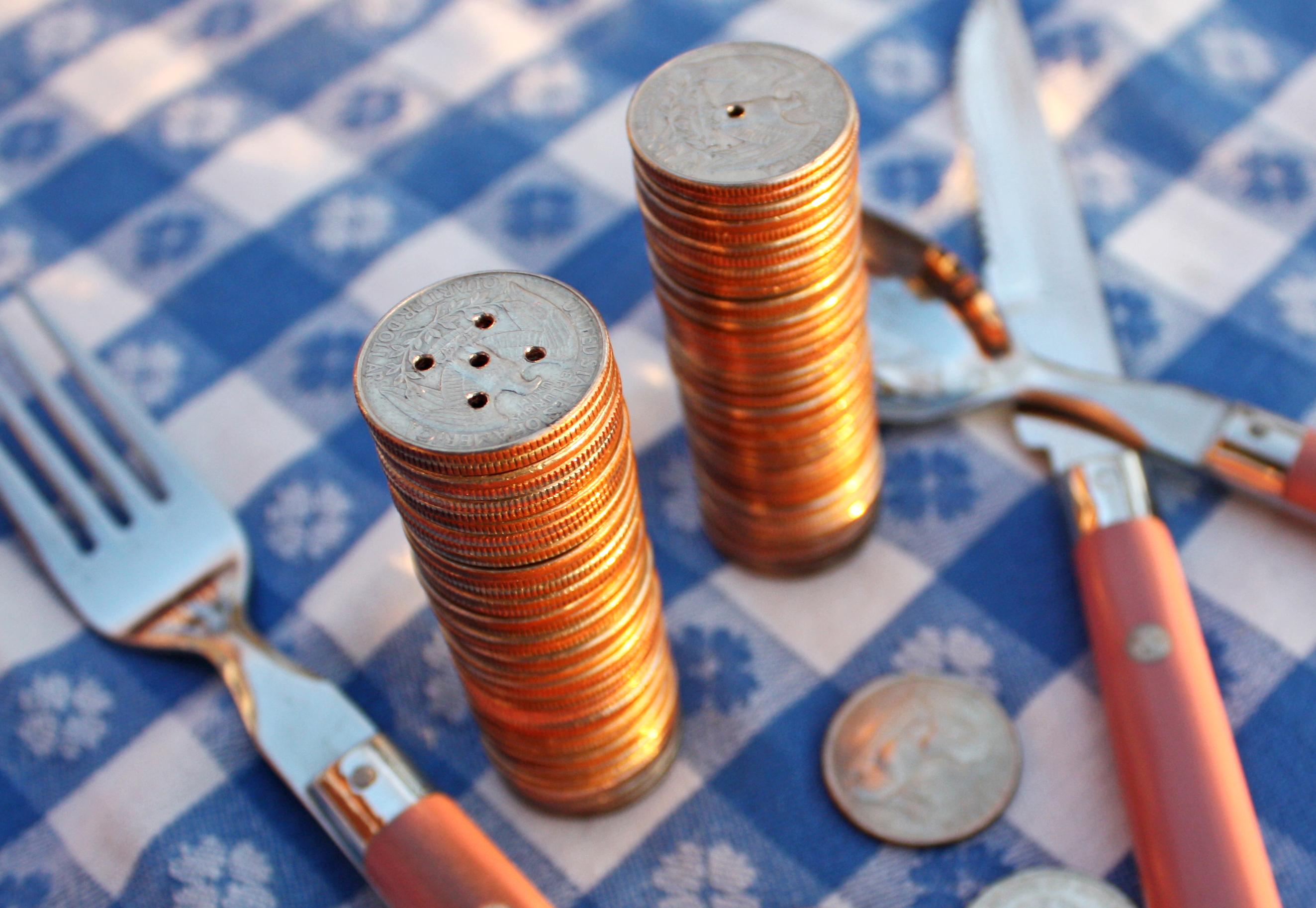 Make Money — Salt & Pepper Shakers