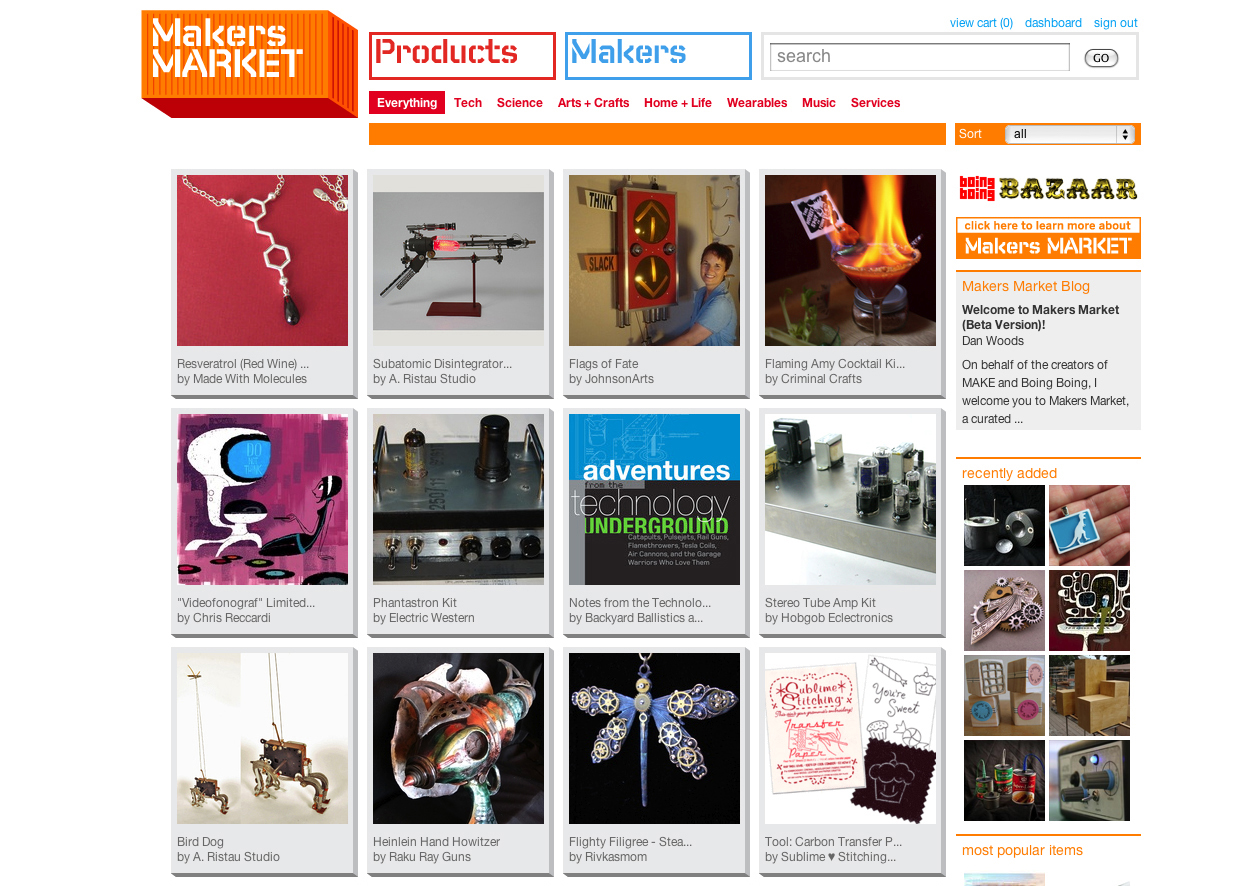 Maker's Corner — It's Alive! Makers Market Debuts