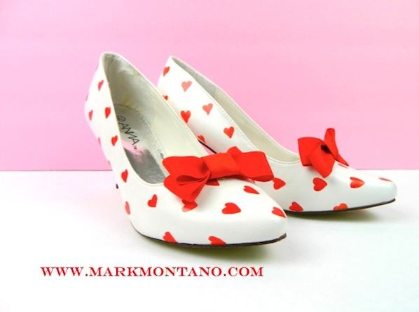 How-To: Valentine's Day Pinup Shoes