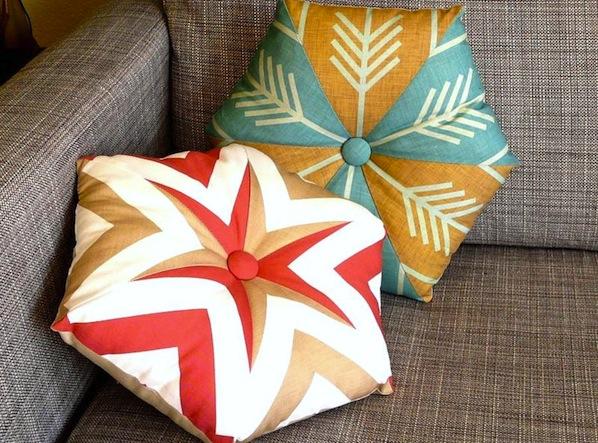 How-To: Kaleidoscope Pillows