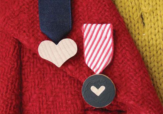Valentine Heart Medals