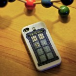 See the post: TARDIS iPhone Case Cross-Stitch Pattern