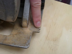 Different saws have different types of markings on them for when you're cutting. Don't trust that they'll correspond to where the blade is going to go. Learn your tool's idiosyncrasies, and take the blade kerf into account.