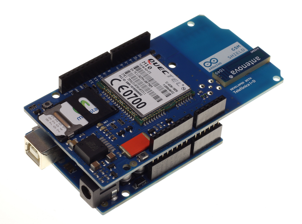 Arduino GSM Shield Now Available