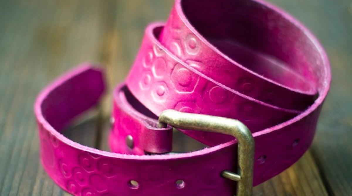 Flashback: Make a Leather Belt