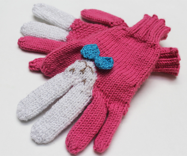 How-To: Knit Bunny Gloves Pattern
