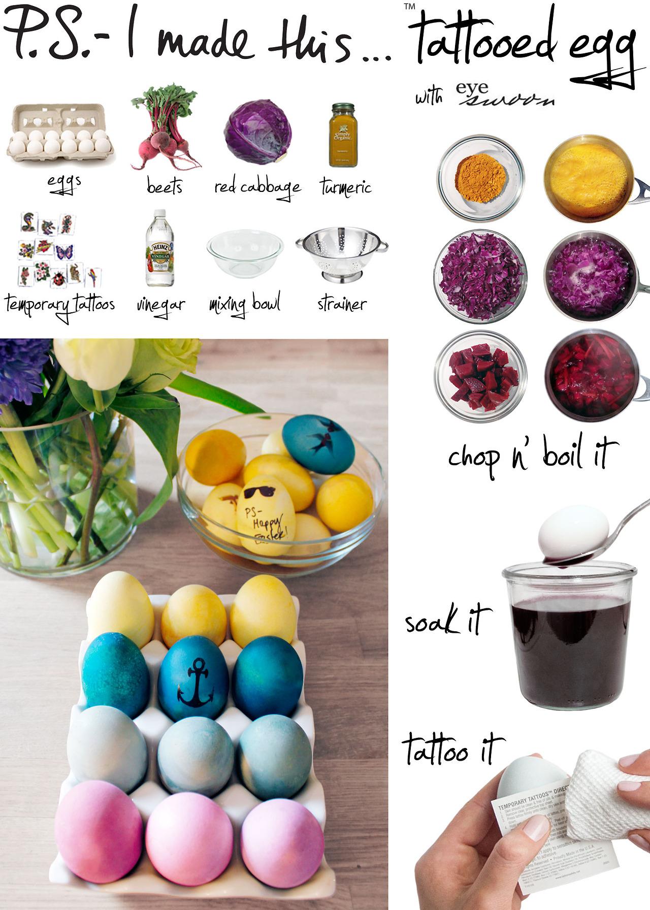 DIY Dyed Eggs