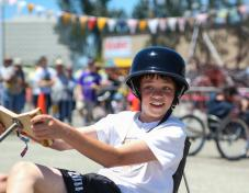 The FBUC races are fun for all ages of makers.