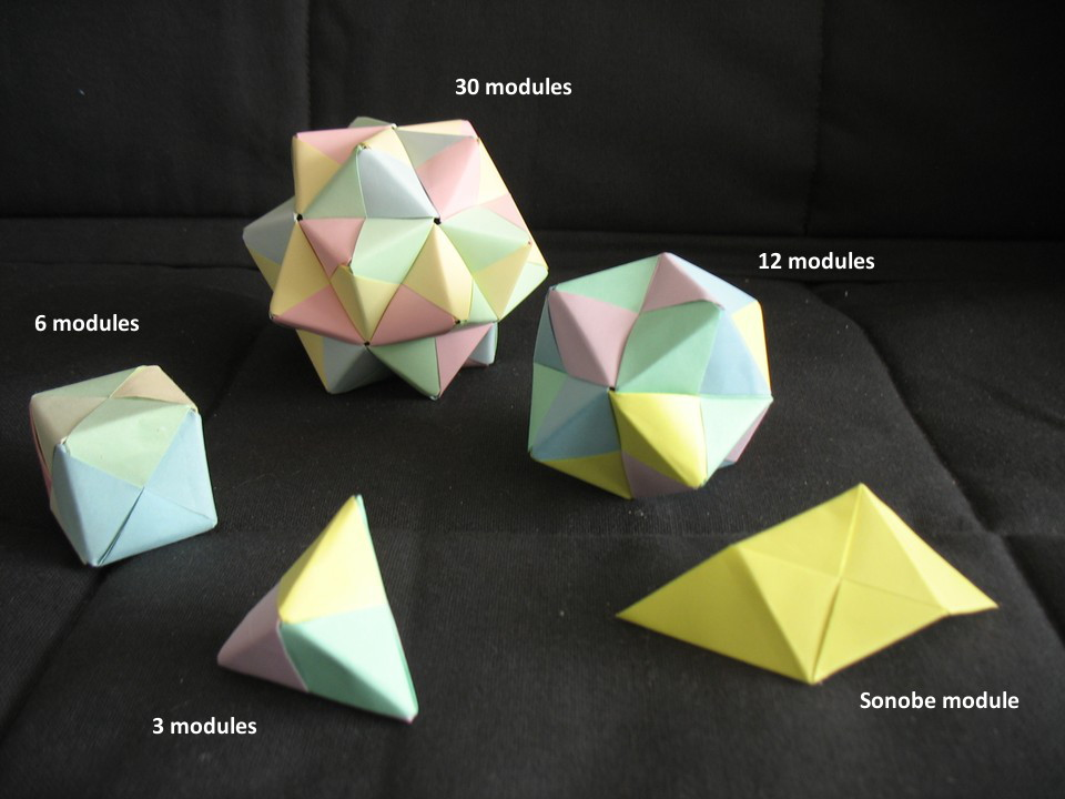 Math Monday: Introducing the Sonobe Unit